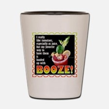Tomatoes with Booze? Bloody Mary Shot Glass