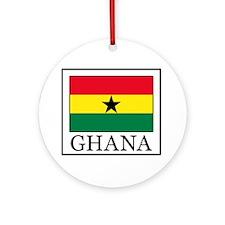 Ghana Round Ornament