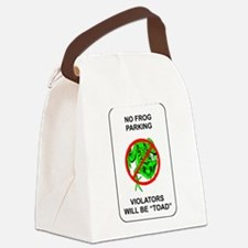 No Frog Parking Canvas Lunch Bag