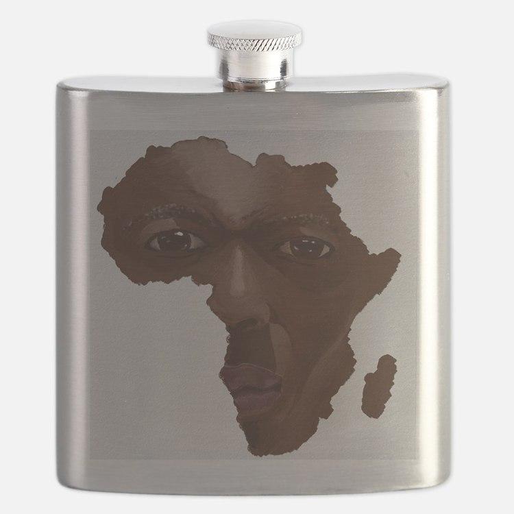 Cute Africa Flask