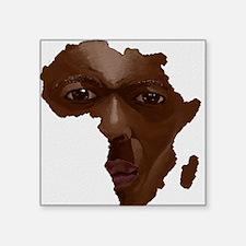 "Cute Zambian Square Sticker 3"" x 3"""