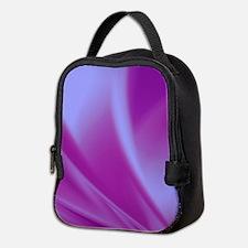 Veils of Purple Fractal Neoprene Lunch Bag