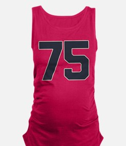 75 75th Birthday 75 Years Old Maternity Tank Top