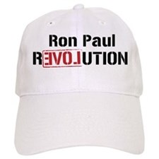 Ron Paul Revolution Baseball Baseball Cap