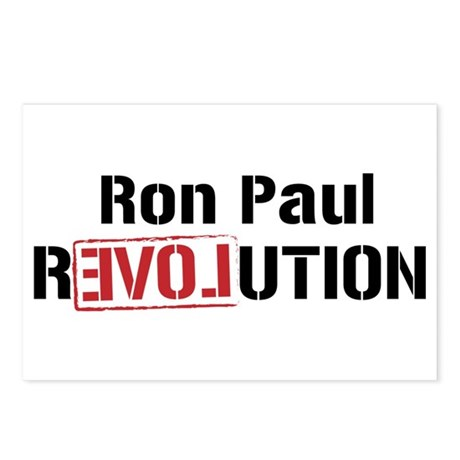 Ron Paul Revolution Postcards (Package of 8)