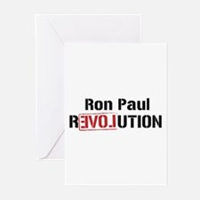 Ron Paul Revolution Greeting Cards (Pk of 10)