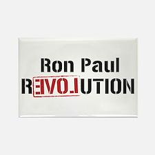 Ron Paul Revolution Rectangle Magnet