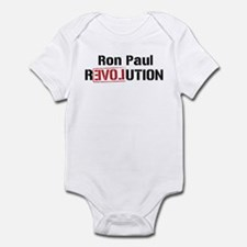 Ron Paul Revolution Infant Bodysuit