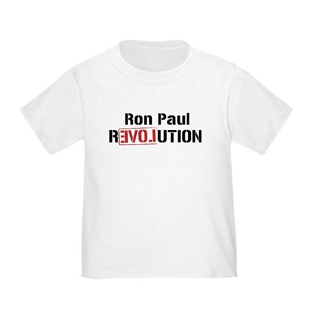 Ron Paul Revolution Toddler T-Shirt