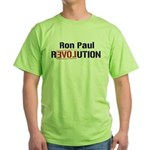 Ron Paul Revolution Green T-Shirt