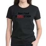 Ron Paul Revolution Women's Dark T-Shirt