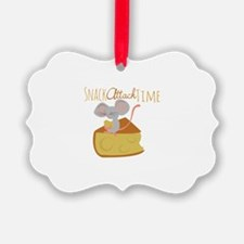 Snack Attack Time Ornament