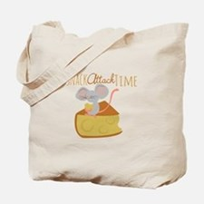 Snack Attack Time Tote Bag