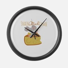 Snack Attack Time Large Wall Clock