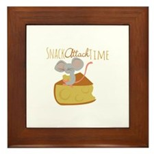Snack Attack Time Framed Tile