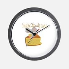 Snack Attack Time Wall Clock