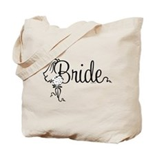 Bride Bouquet Tote Bag