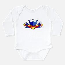 Wonder Woman Long Sleeve Infant Bodysuit
