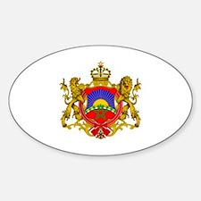 RightOn Morocco Sticker (Oval)