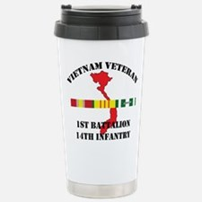 1st Battalion 14th Infantry Travel Mug