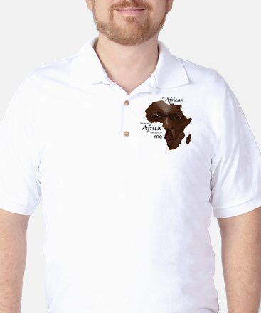 Africa was Born in Me Golf Shirt