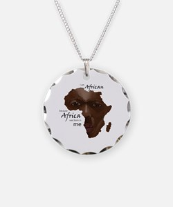 Africa was Born in Me Necklace
