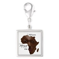 Africa was Born in Me Charms