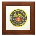 SF Federal Reserve Bank Framed Tile