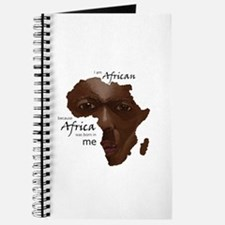 Africa was Born in Me Journal