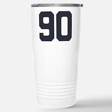 90 90th Birthday 90 Yea Stainless Steel Travel Mug