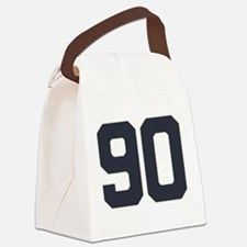 90 90th Birthday 90 Years Old Canvas Lunch Bag