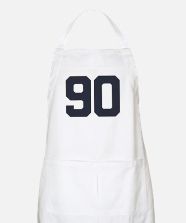 90 90th Birthday 90 Years Old Apron
