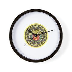 SF Federal Reserve Bank Wall Clock