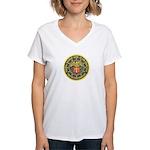 SF Federal Reserve Bank Women's V-Neck T-Shirt