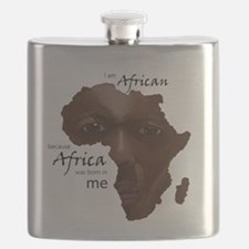 Africa was Born in Me Flask