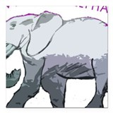 Save elephants Car Magnets