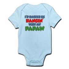 Rather Be With Papaw Body Suit