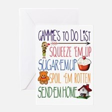 Cute Mema Greeting Card