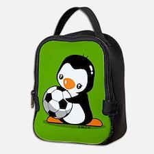I Love Soccer (5) Neoprene Lunch Bag