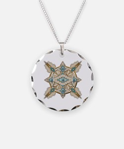 Funny American indian Necklace