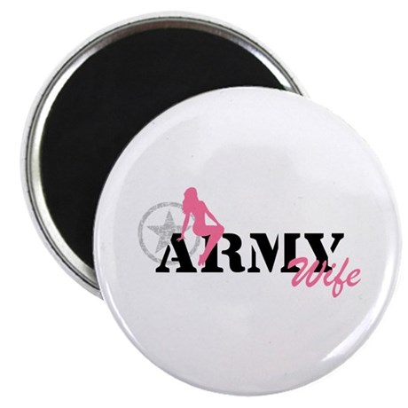 Sexy ARMY Wife - pnk Magnet