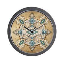 Funny Native Wall Clock