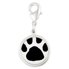 Paw Print Template Charms