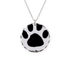 Paw Print Template Necklace