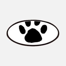 Paw Print Template Patch