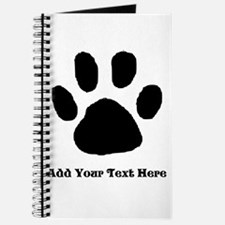 Paw Print Template Journal