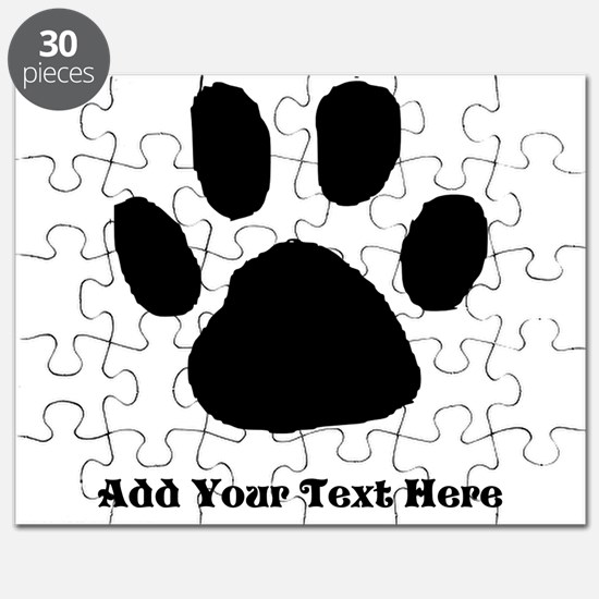 Paw print puzzles paw print jigsaw puzzle templates puzzles paw print template puzzle pronofoot35fo Choice Image