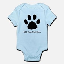 Paw Print Template Body Suit