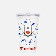 Atom Template Acrylic Double-wall Tumbler