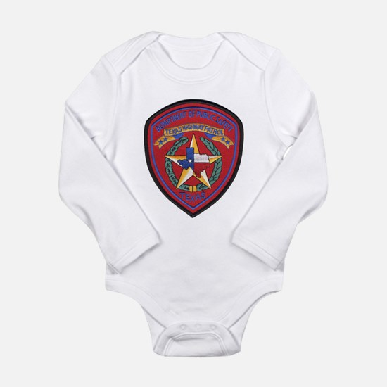 Cute State police Long Sleeve Infant Bodysuit